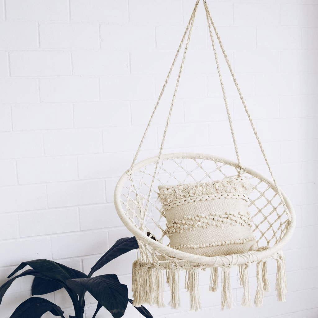 Buy Sonyabecca Hammock Chair Macrame Swing 265 Pound
