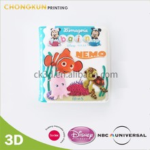 Waterproof Cute Promotional Logo Printed EVA Baby Educational Bath Book