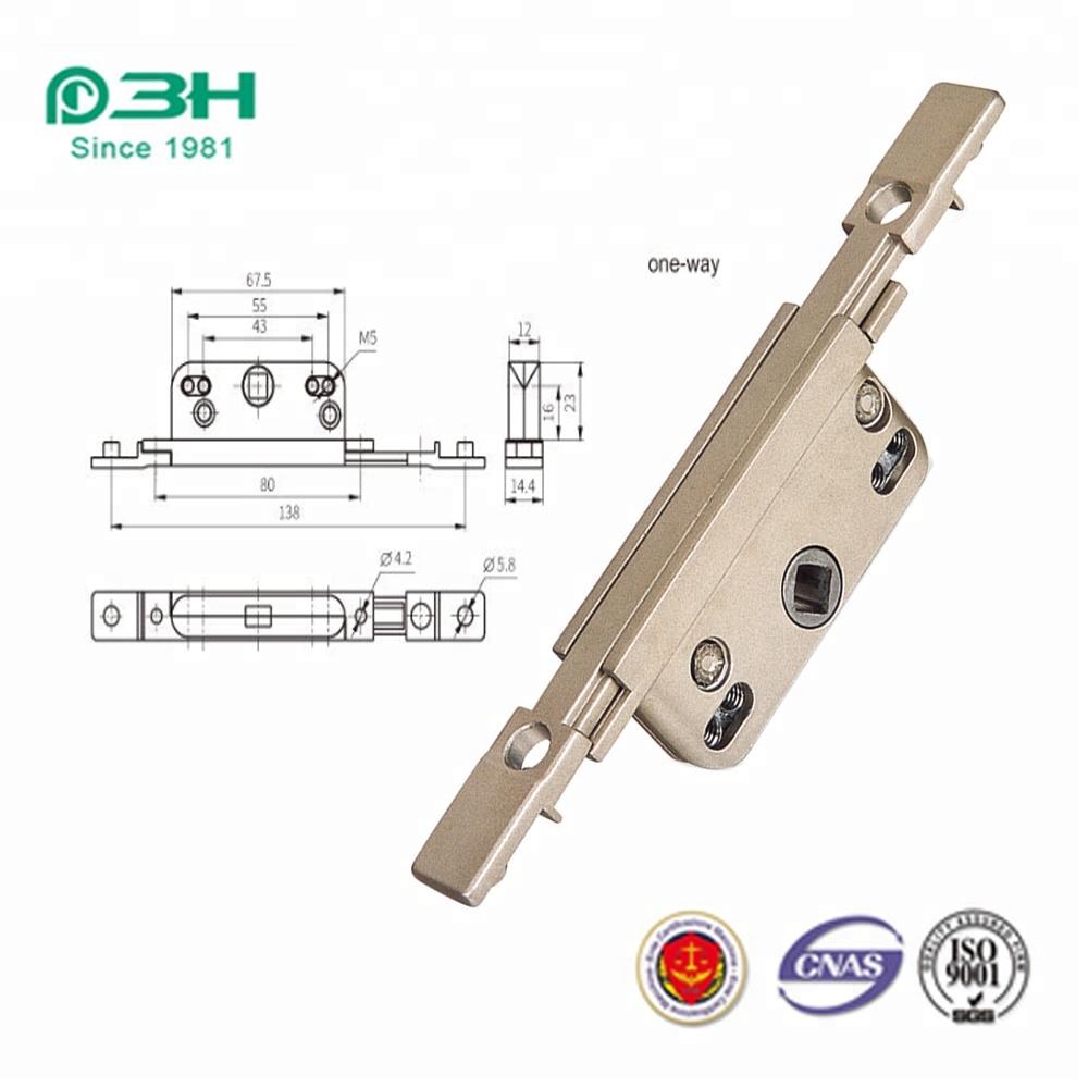 Casement door  transmission device