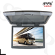 13 15 17 22inch Roof mount Flip down monitor / Car Ceiling Mounted Monitor Bus LCD TV