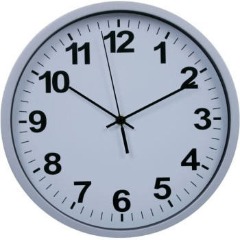 12 Inch Modern Design Office Plastic Wall Clock/advertise Promotion Items/ Wanduhr Teile/