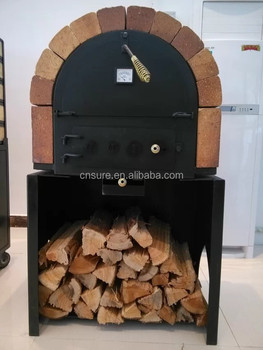 portable wood fired oven stainless steel wood fired pizza oven with stone floor