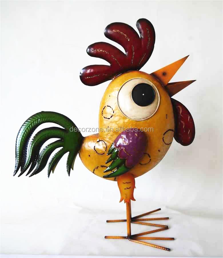 Fonte figurines d 39 animaux en fer forg jardin d coration d for Animaux deco jardin