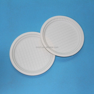 7.5 inch disposable charger plate/biodegradable tableware