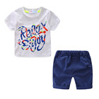 Mudkingdom hot sell kids summer baby boys clothes set for kids cheap child clothing wholesale monogrammed casual 2 piece sets