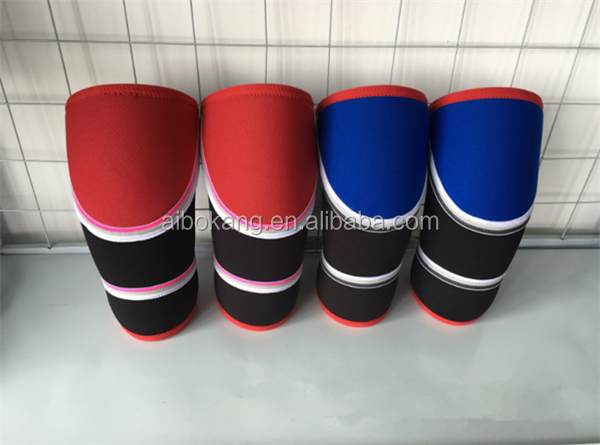 Basic 7mm Knee Sleeve for Powerlifting / weight lifting knee sleeves / Neoprene knee