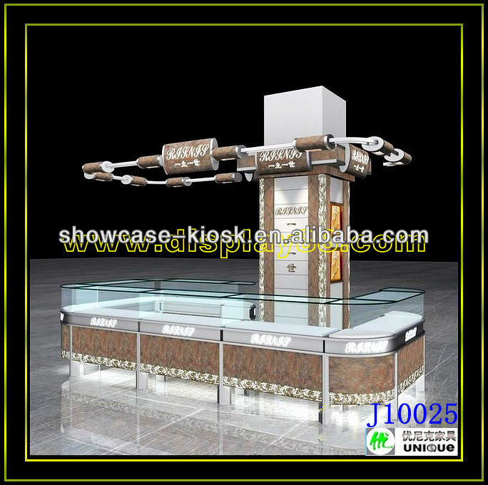 2013 Top sale jewelry kiosk design selling online