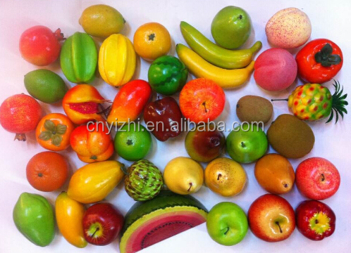 Artificial Fruits And Vegetables /artificial Decoration Plastic Fruit