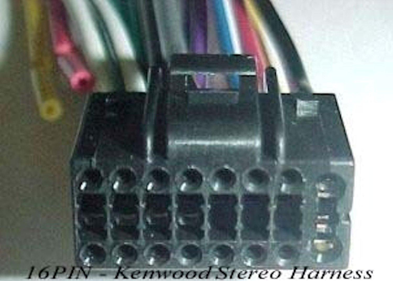KDC-BT958HD NEW WIRE HARNESS for KENWOOD KDC-BT955HD
