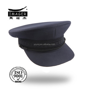 24d900c17 Customized navy blue military army peaked cap for men officers