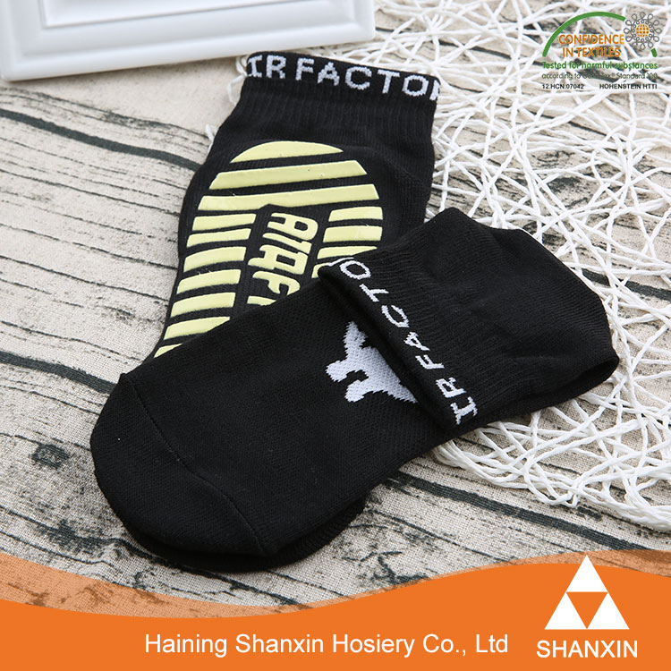 New Style Customized Non Slip Knitted Trampoline Sock