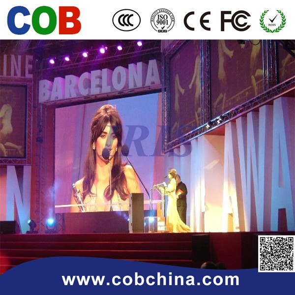 P6 Rental Indoor Full Color Paper Thin Led Screen