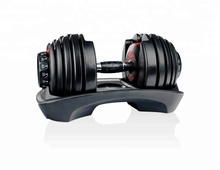 Hot Sale Adjustable Pabrik Langsung Disesuaikan Logo Gym <span class=keywords><strong>Dumbbell</strong></span> <span class=keywords><strong>Set</strong></span>