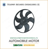Renault Automotive Auto Parts Radiator Cooling Fan / Cooling Heater Fan 12v