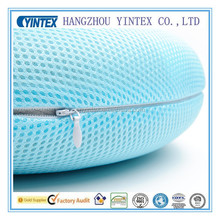 Mesh Fabric U Shape Travel Neck Pillow