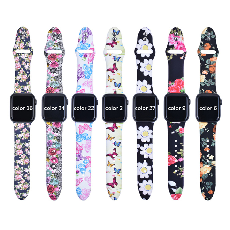 BOORUI  Smart Silicone Watch Band for Apple Watch Band Strap global hot sale rubber wrist strap for apple watch series
