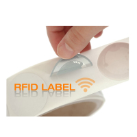Custom HF UHF clothing rfid tag for tracking management