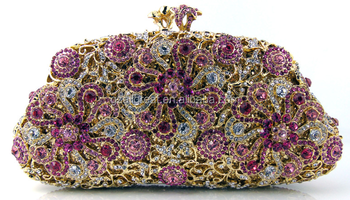 AB7000#167 Exporters and manufacturers of austrian crystal evening bags