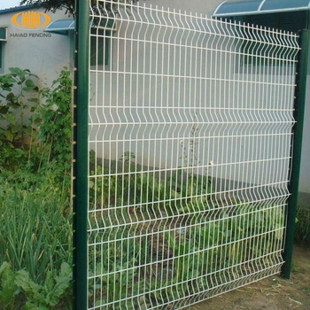 white wire garden fence. 2017 Professional High Quality White Pvc Coated Welded Wire Mesh Fence/metal Garden Fence/ Fence I