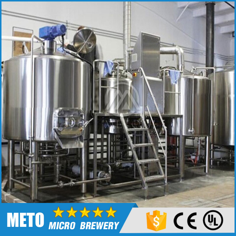 Industrial 2000l draft beer 20bbl medium size mcirobrewery equipment for sale