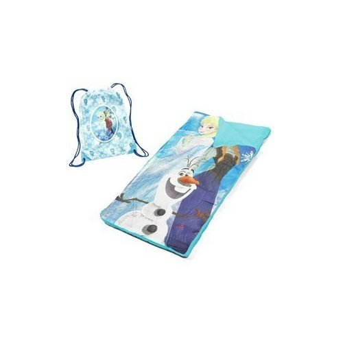 Disney Frozen Elsa Anna and Olaf Sleeping Bag and Sling Set