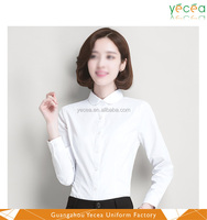 Wholesale high quality fashion ladies office shirt long sleeve latest shirt designs for women