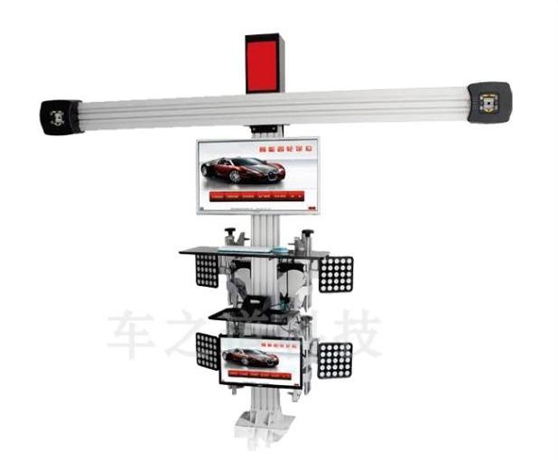 Econômica venda quente máquina de alinhamento das rodas do caminhão