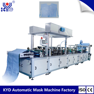 Disposable Heated Kors Surgical Gowns Folding Machine In India
