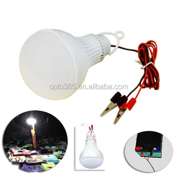 Dc 12v 24v 36v 48v 60v 85v 21w Camping Led Light Bulb Battery ...