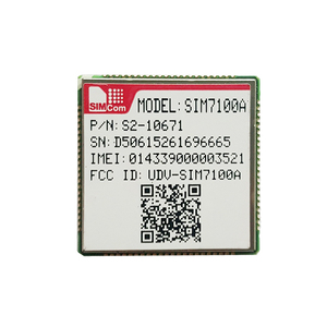 4G LTE mini pci or LGA version module SIM7100A with Multi-Band 4G Dual-Band 3G SMT MINI PCIE