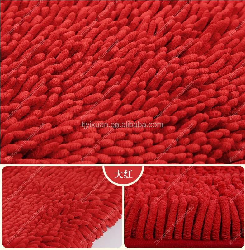Microfibra Ciniglia Di Cotone Di Colore Solido Moquette/tappeto ...