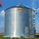 Factory Price 5000 Ton Vertical Coffee Bean Storage Silo / Corn Milk Rice Grain Steel Silo For Sale
