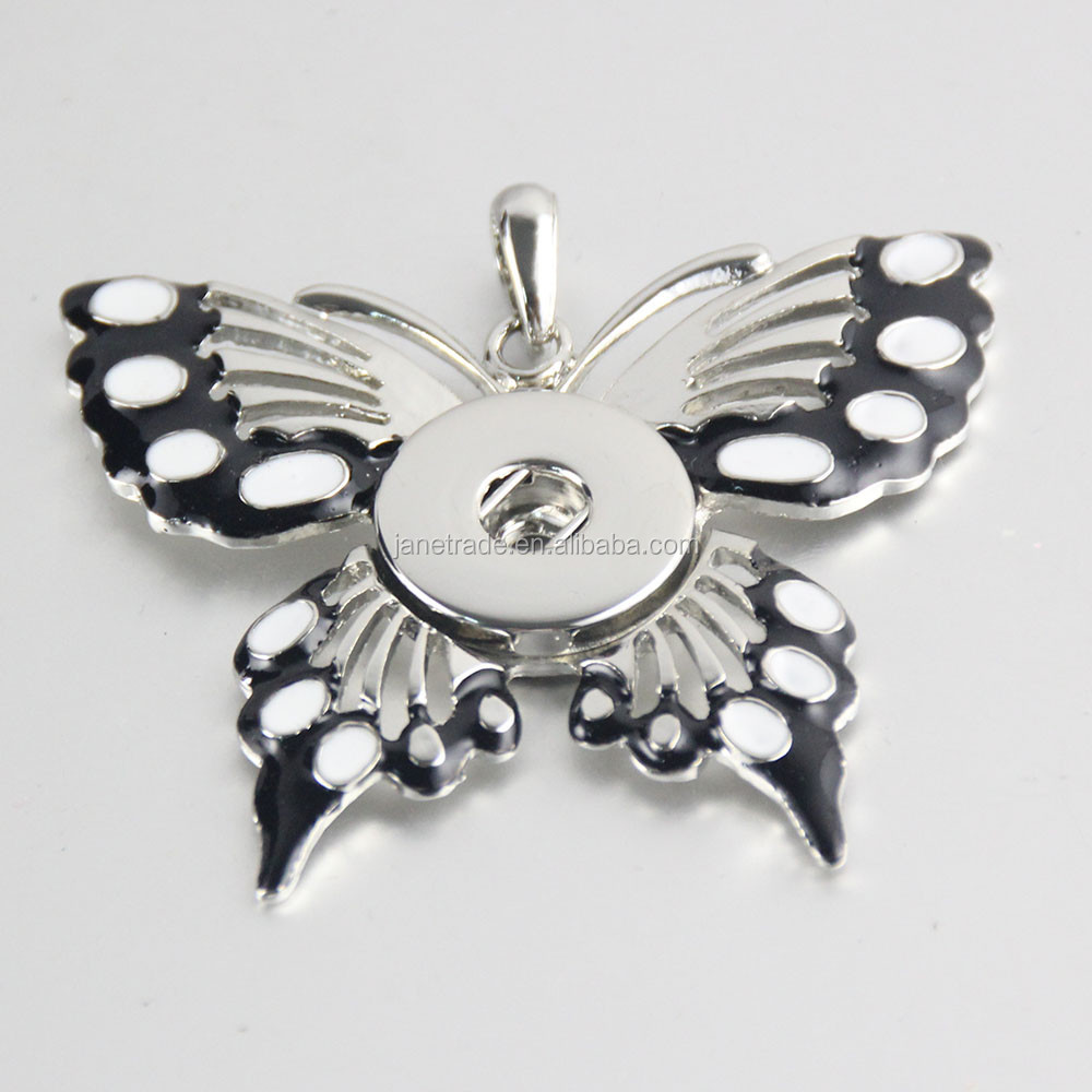 2017 New Fashion Zinc Alloy Pendant,Pendant Panic Snap,Button Snaps Pendant