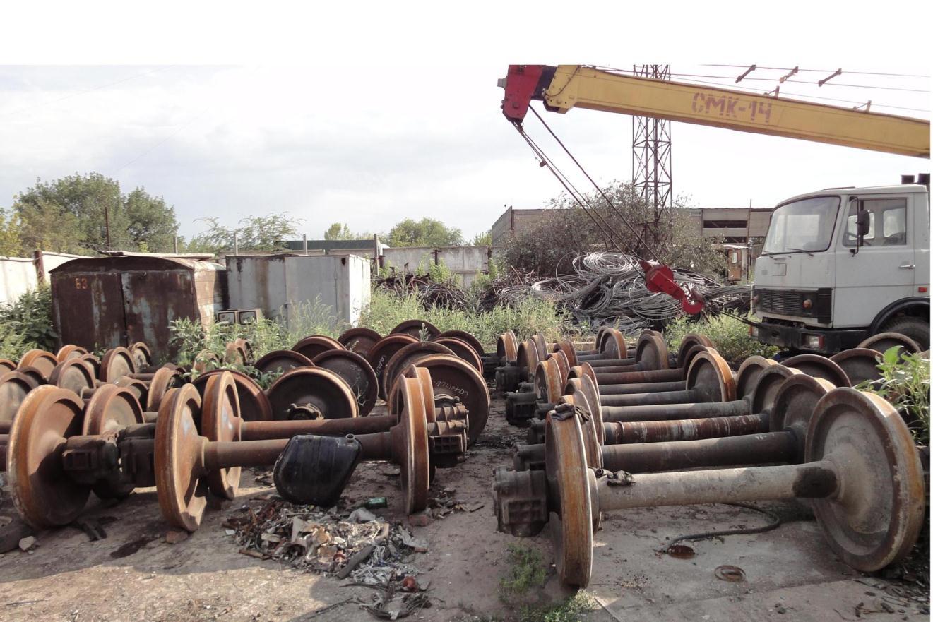 Train Wheels & Axles Scrap