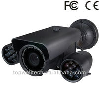 New CCTV Night vision waterproof 1/3Sony CCD outdoor camera with sim card metal case 80M IR Distance