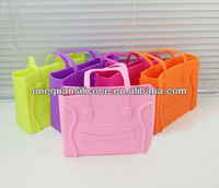 Wholesale silicone tote bag for woman/jelly bean bag/candy bag