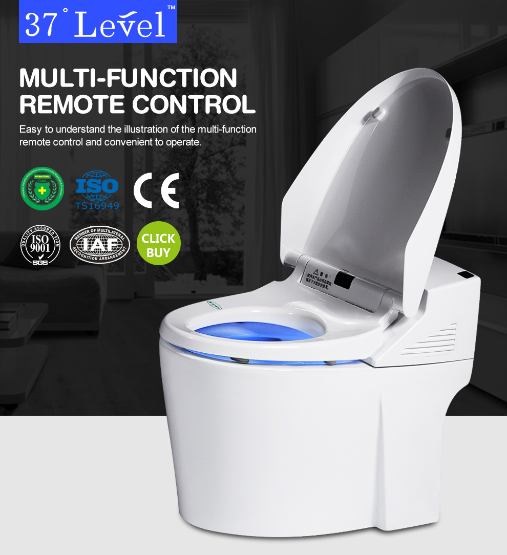 China factory flush automatic toilet wc bathroom intelligent toilet