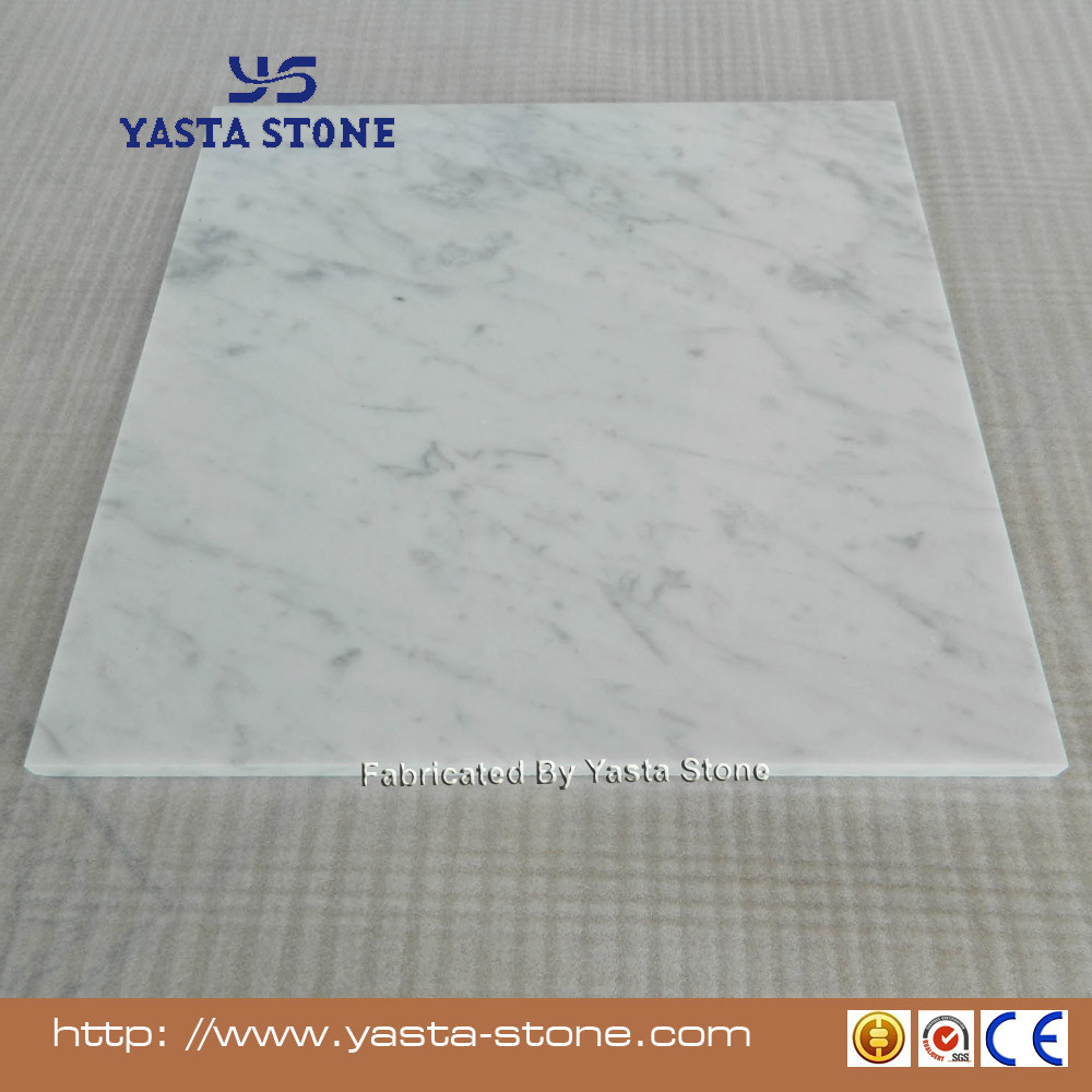 Carrera Flooring Tiles Slab Bianco Carrara White Marble