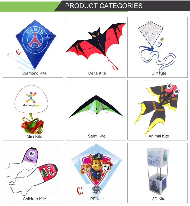 chinese custom printed shark  DIY  kites for children