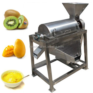 Large output avocado pulp beating machine/passion fruit pulp extractor machine
