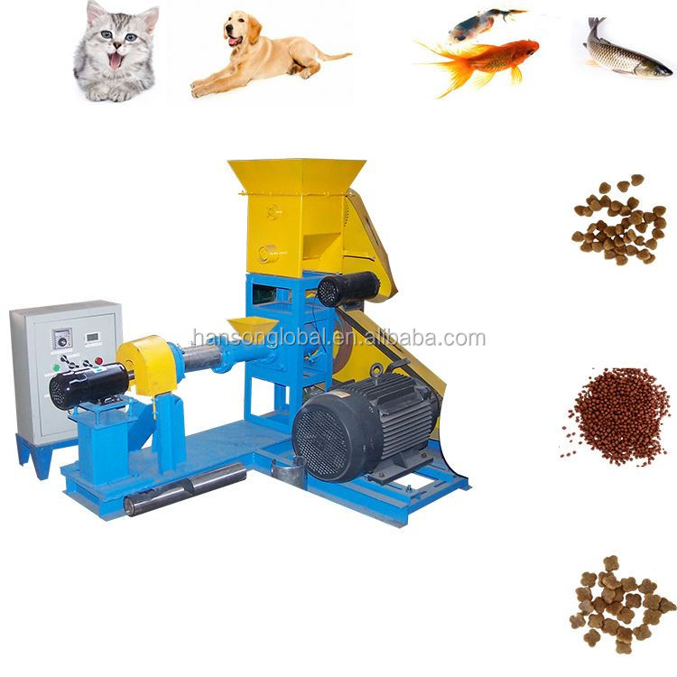 Cheap Promotional Flour Bone Fish Feed Extruded Mill Aquarium Catfish Food Hand Feed Grinder