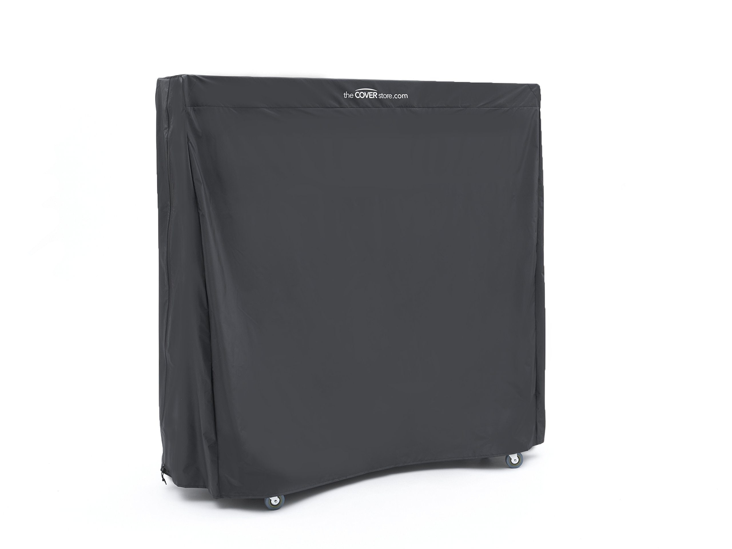 CoverMates – Upright Ping Pong Table Cover – 60W x 28D x 60H – Classic Collection – 2 YR Warranty – Year Around Protection - Black