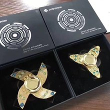 high quality hand spinner aluminum EDC Fidget toys Pure copper office toys
