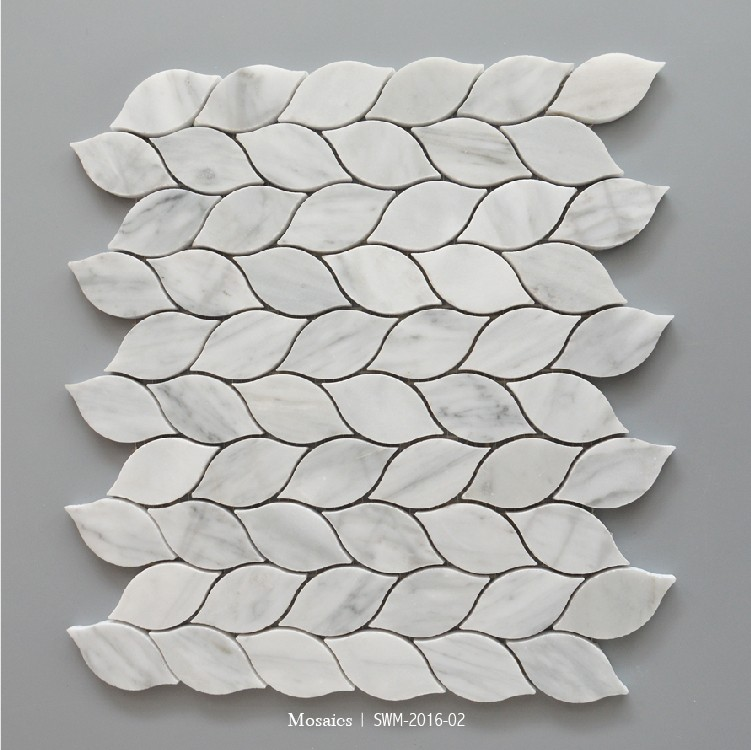 Beautiful Leaf Shape Backsplash Mosaic Tile Buy Leaf