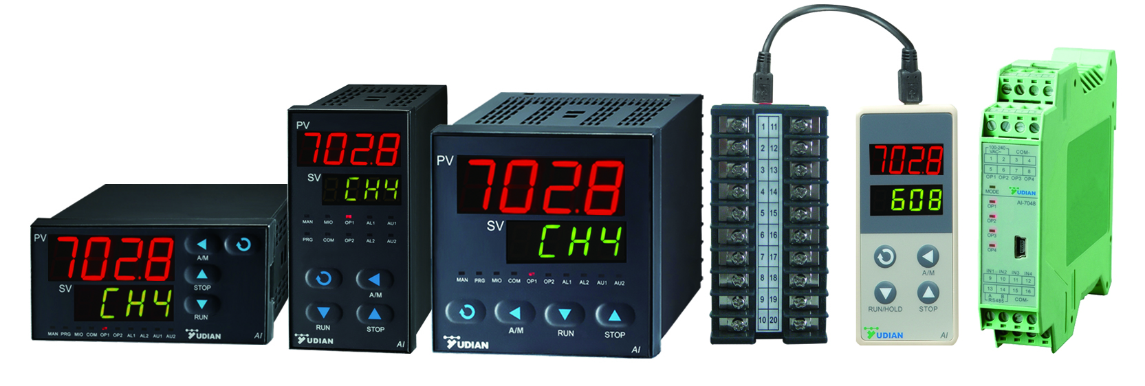 mold four channel temperature controllers