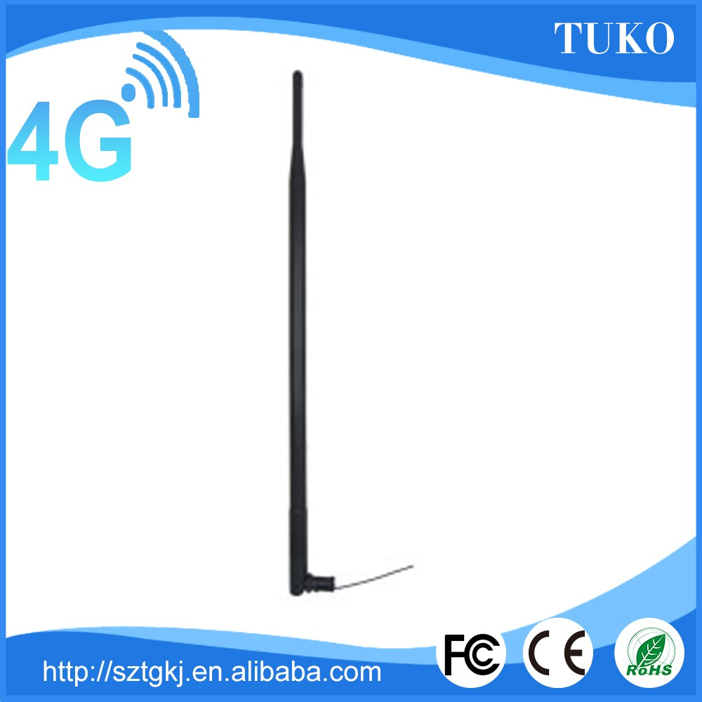 Factory price modem external rubber duck wiereless 4g lte antenna with IPEX