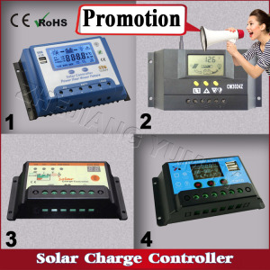 2018 Hot Selling Promotion Price 10A 20A 30A 40A 50A PWM Solar Charge Controller