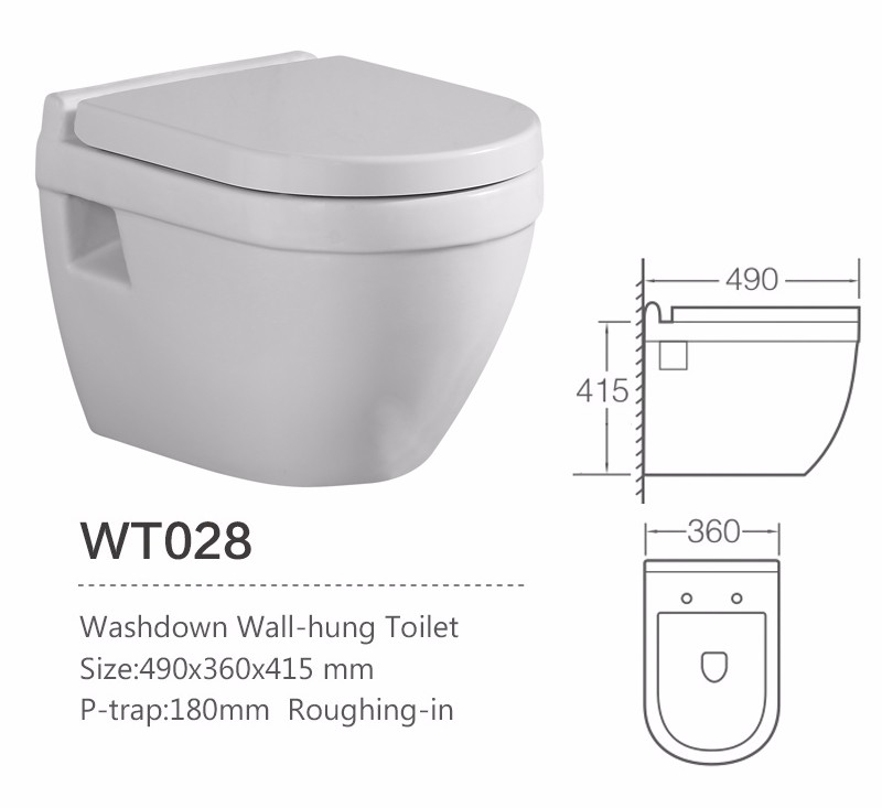Bathroom Ceramic Small Sizes Wall Hanging Vitreous Toilet Pan For Sale Buy