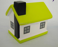 Custom house money box,Plastic house shaped money box,Plastic House shaped custom money box for adult