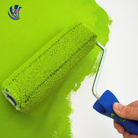 Environment friendly latex paint water based and latex paint with primer